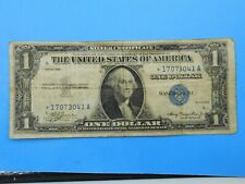 1935 $1 Silver Certificate Currency Star Note (#1)
