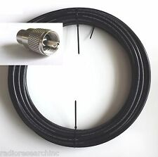 Coax Cable Low Loss Double Shield RG213U 75' Non-contaminating BR213DS UHF/PL259