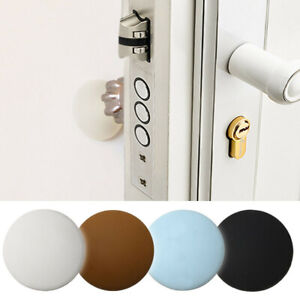 Rubber Home Door Doorknob Back Wall Protector Savior Shockproof Crash Pad AU
