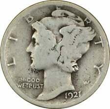 1921-D Mercury Silver Dime G Uncertified