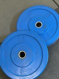Origin Fitness 20kg Blue Bumper Plates Pair