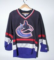 Authentic Vancouver Canucks Mens Small CCM NHL Hockey Jersey throwback