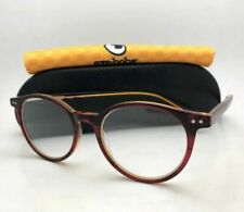Readers EYE•BOBS Eyeglasses CASE CLOSED 2419 77 49-18 +3.50 Red Crystal Orange