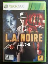 L.A. NOIRE Japanese Xbox 360 Rockstar Games