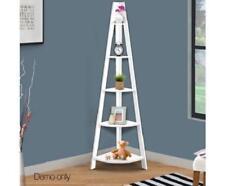 5 Tier Ladder Living Room Corner Ornament Photo Plants Storage Bookshelf