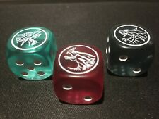Yugioh Dragons of Legend: The Complete Series DLCS Dice All 3! Timaeus/Crit/Herm