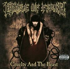 NEW-SEALED! CRADLE OF FILTH - CRUELTY AND THE BEAST CD