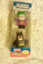 Fisher Price Little People DC Super Friends Batman and The Joker 2011 NIB