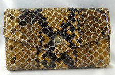 MICHAEL Michael Kors Electronics IPhone 5 Snake Printed SAND Crossbody Purse