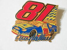 Kenny Wallace Racing Pin  Race Car Driver #81 Nascar Pin