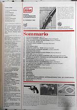 DIANA ARMI 5/1982  WINCHESTER WEBLEY LEFAUCHEUX ZANOTTI COLT UBERTI S&W BERETTA