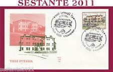 ITALIA FDC ALA 508 VILLE VENETE GODI VALMARANA VICENZA 1980 ANNULLO H303