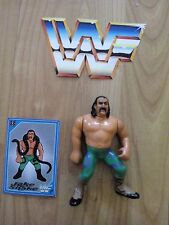 WWF Hasbro Jake Sanke Serpiente Series 1 Figure WWE Wrestling 1990