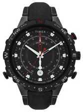 Timex   Allied 45mm   Black Fabric Strap   Black TW2T76400 Watch