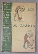 A. GREVIN Meilleurs Dessins Les Maîtres humoristes 1907