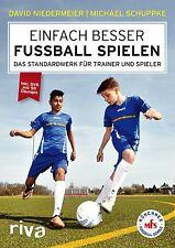 Einfach besser Fußball spielen Standardwerk Trainer Spieler Training Buch + DVD