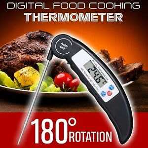 Digital Food Thermometer Meat Probe Professional Kitchen BBQ Household Tools Hot