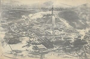 Postcard - Anaconda, Montana - Aerial view of the Washoe Smelter