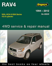Toyota RAV4 1994-2012 Workshop Repair Manual with MPN GAP05535