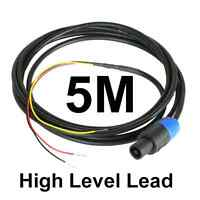 5M Neutrik Speakon High Level Lead for REL & MJ Subwoofer