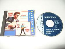 Duane Eddy Twangin Up A Storm/Twistin N Twangin Volume 2 -24 tracks 1992 Ex Cond