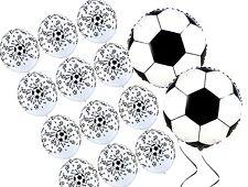 Soccer Ball Football Helium Quality Balloon Set (14 pcs) Sport Party Decoration