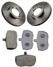 Carbodies FX Fairway 2.7 TD Front Brake Discs and Pad Set 1987-1996