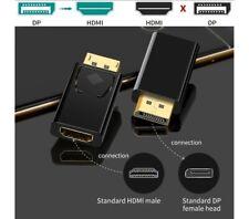 Displayport auf zu HDMI DP Adapter 1080P Vergoldeter Stecker DP auf HDMI