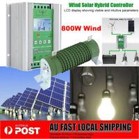 12V / 24V LCD Boost MPPT HYBBRID CHARGE REGULATOR WIND TURBINE SOLAR CONTROLLER