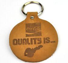 Coca-Cola Coca Cola USA Pelle Catena chiave Key Chain - Quality è