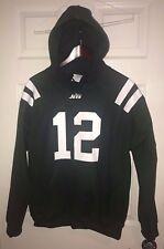 New York Jets Joe Namath Throwback Home Jersey Style Hoodie Hoody Sweatshirt