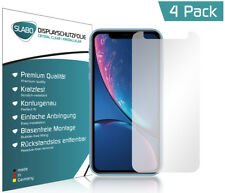"Slabo Displayschutzfolie für iPhone XR | X R (4er Set) KLAR ""Crystal Clear"""
