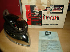 Vintage Magic Maid Iron by Son Chief 3401-Tf Steam-Dry with Box Du Pont Approved