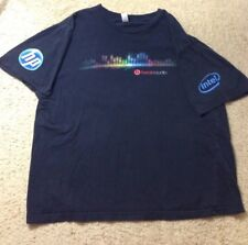 Vintage HP Intel Beats Audio Beatsaudio Dr Dre T Shirt Black - Size Large L