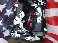 Mid-Calf Lace Up Floral Boots for Women