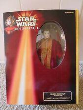 Hasbro - Star Wars - Queen Amidala Red Senate Gown 1999 Portrait Edition Figure