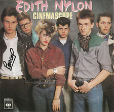 "7"" 45 TOURS FRANCE EDITH NYLON ""Cinémascope / Passions"" 1980 PUNK/NEW WAVE"