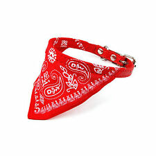 Small Pet Dog Puppy Cat Neck Bandana Collar TOY CLOTHING SCARF GIFT FOR CLOTHES