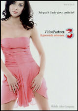 cartolina pubblicitaria PROMOCARD n.4192 VIDEO PARTNER 3 MOBILE COMPANY