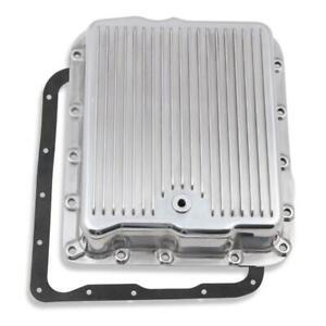 Mr Gasket Automatic Transmission Oil Pan 9797PMRG; Polished 700R4, 4L60, 4L60E