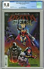 Dark Nights Death Metal #1 CGC 9.8 1st First Print Edition Embossed Foil Cover
