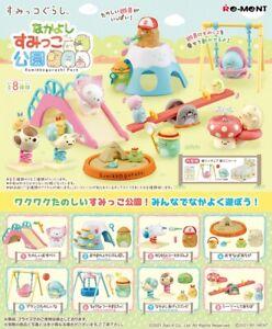 Re-Ment Miniature Japan Sumikko Gurashi Park Full Set 8 pieces Rement