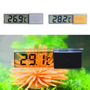 Digital LCD Aquarium Thermometer   Tank Water Temperature Meter Gauge 3D