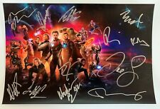 Avengers Infinity War cast signed autographed 8x12 photo Robert Downey Jr. COA