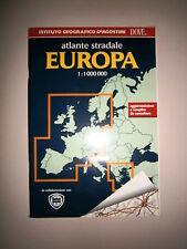 ATLANTE STRADALE EUROPA 1:1000000 # Istituto Geografico De Agostini 1996