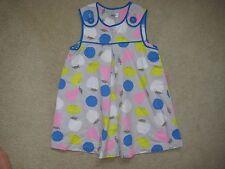 Baby boden cotton pinafore dress 12-18 months fruit print