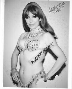 1970s Vintage Photo* signed*Burlesque*DORIS GOHLKE*DELILAH JONES