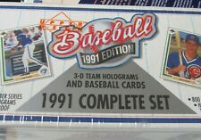 1991 Upper Deck Baseball Factory Sealed Complete Set SANDBERG,SMITH, RYAN, BRETT