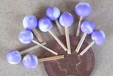 Échelle 1:12 10 ronde cassis Lollipops Dolls House Sweet Shop Accessoire