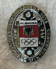 2018 PyeongChang Olympic Albania NOC National Olympic Committee Athlete's Pin